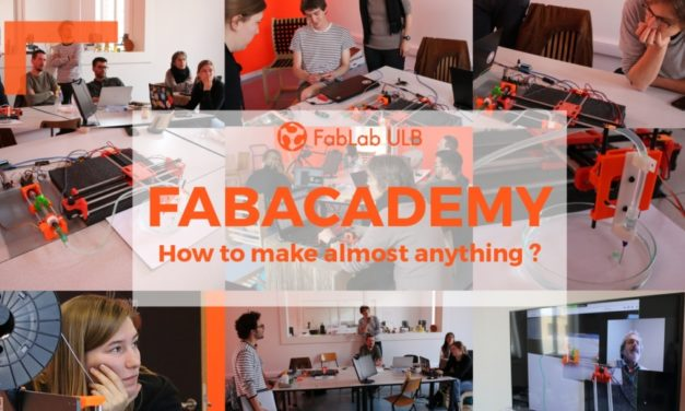 Apply to Fabacademy 2020 in Brussels